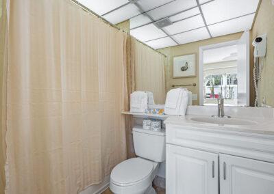 One Bedroom Apartment Bathroom 2
