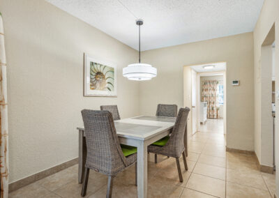 One Bedroom Apartment Dining Room